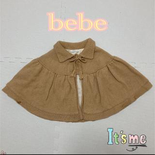 ベベ(BeBe)のbebeのニットポンチョ(ニット/セーター)
