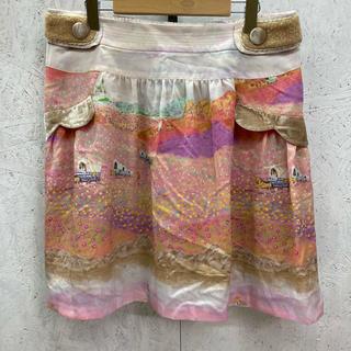 フランシュリッペ(franche lippee)のFranche Lippee スカート パイレーツ柄 完結編(ひざ丈スカート)