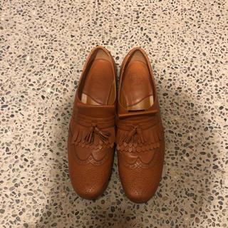 ショセ(chausser)のショセ 革靴 24センチ(ローファー/革靴)