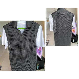 プラダ(PRADA)のPRADA (プラダ)ダブルレイヤー・ベスト(※Tシャツは付属致しません)(ベスト)
