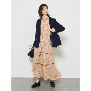 シンディー(SINDEE)のSNIDELスナイデル シアーボリュームプリーツスカート(ロングスカート)