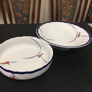 コウランシャ(香蘭社)のオーキッドレース ボウル 深鉢2点セット(食器)
