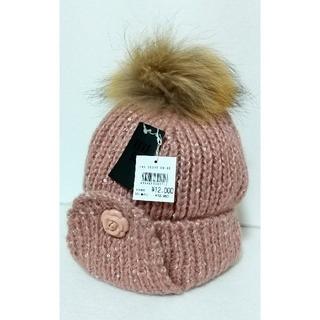 アナスイ(ANNA SUI)の[未使用]アナスイ/ニットの帽子/12960円(ニット帽/ビーニー)