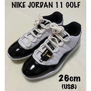 ナイキ(NIKE)のナイキ ジョーダン11 ゴルフ  26cm Jordan 11 GOLF(ゴルフ)