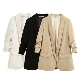 ザラ(ZARA)の3カラー ロールアップ可能な袖 ジャケット(テーラードジャケット)
