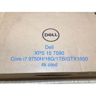 デル(DELL)のDell XPS 15 7590 Core i7/16G/1TB/4k OLED(ノートPC)