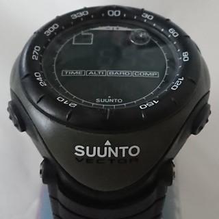 スント(SUUNTO)の◎値下げ!★美品!SUUNTO VECTOR ミリタリーグリーン(腕時計(デジタル))