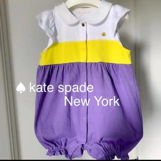 ケイトスペードニューヨーク(kate spade new york)の★美品★katespade ロンパース(ロンパース)