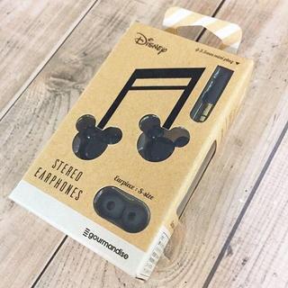 ディズニー(Disney)のミッキーマウス ステレオイヤホン DN513BK(ヘッドフォン/イヤフォン)