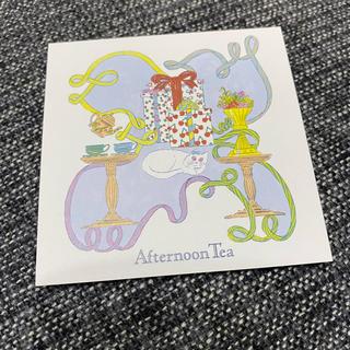 アフタヌーンティー(AfternoonTea)の【afternoon tea】メッセージカード 11枚(カード/レター/ラッピング)