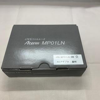 エヌイーシー(NEC)の新品 モバイルルータ Aterm  PA-MP01LN-3W(PC周辺機器)