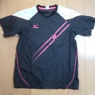 MIZUNO - バレーボール用半袖ピステ、Lサイズ