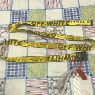 オフホワイト(OFF-WHITE)のoff-white INDUSTRIAL BELT(ベルト)