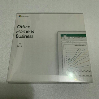 Microsoft - office Home & Business 2019 正規品【新品未開封】