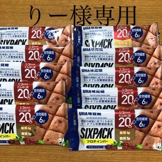 UHA味覚糖 - UHA味覚糖 プロテインバー SIIXPACK クランベリー味 10袋