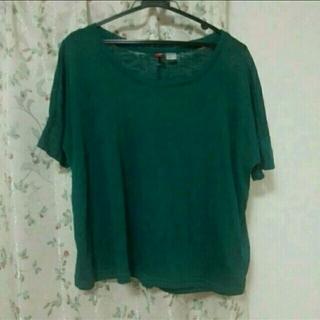 エイチアンドエム(H&M)のH&M 半袖トップス(Tシャツ(半袖/袖なし))