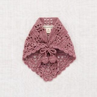 キャラメルベビー&チャイルド(Caramel baby&child )の2020AW♥️misha and puff Crochet スカーフ(マフラー/ストール)
