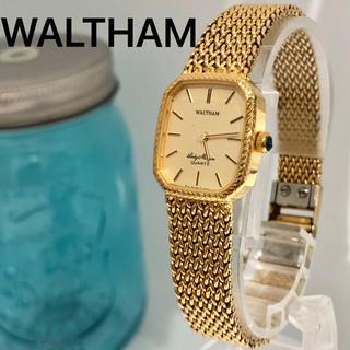 ウォルサム(Waltham)の66 ウォルサム時計 レディース腕時計 新品電池 希少品 高級時計(腕時計)