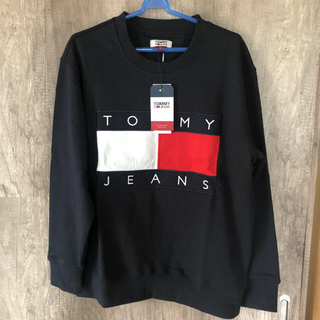 TOMMY - トミー スウェット トレーナー 男女兼用[紺M]