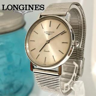 ロンジン(LONGINES)の37 ロンジン時計 メンズ腕時計 新品電池 ヴィンテージ品(腕時計(アナログ))