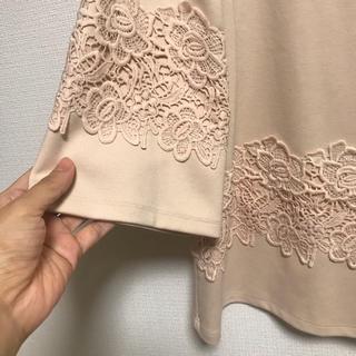 tocco - ドゥクラッセ 刺繍 プルオーバー