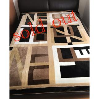 フェンディ(FENDI)のフェンディ⭐︎高級マイヤー毛布 230×180(毛布)