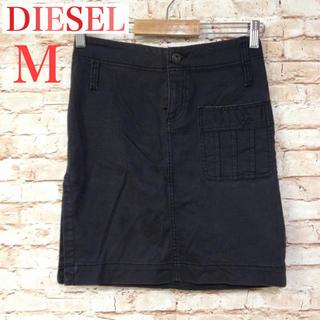 ディーゼル(DIESEL)の[DIESEL] ミニスカート Mサイズ 黒(ミニスカート)
