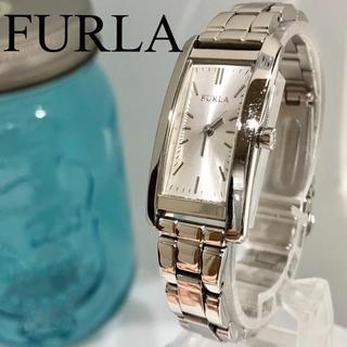 25 FURLA フルラ時計 レディース腕時計新品電池 スクエア