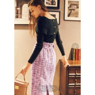 ノエラ(Noela)のNoela ノエラ ツイードタイトスカート セール sale(ひざ丈スカート)