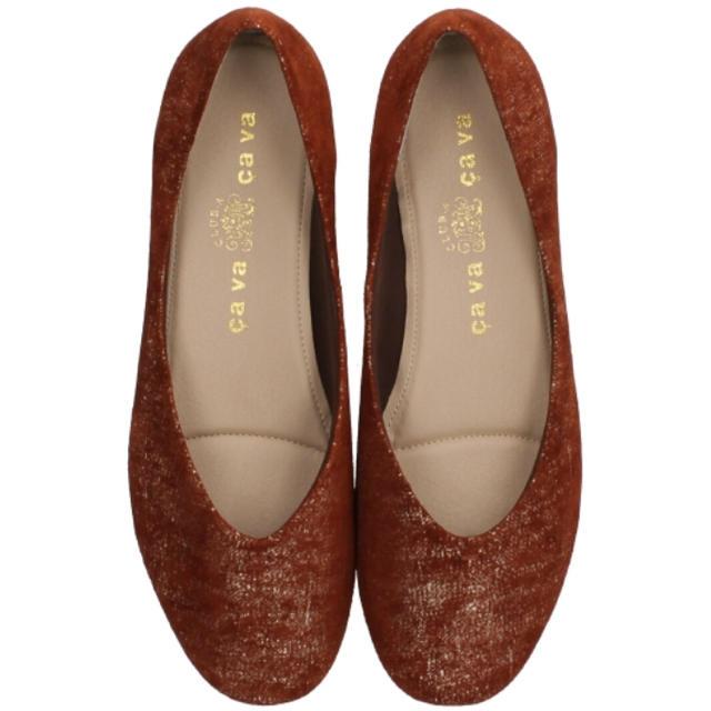 cavacava(サヴァサヴァ)の新品✨タグ付き♪定価14080円 羊革パンプス レッドorパープル 大特価‼️ レディースの靴/シューズ(ハイヒール/パンプス)の商品写真