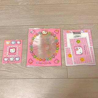 ハローキティ(ハローキティ)のキティちゃん レターセット(ノート/メモ帳/ふせん)