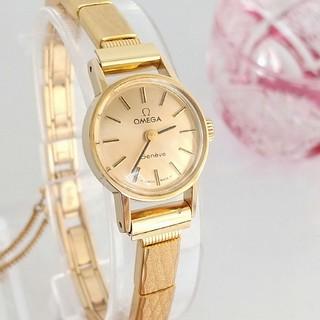OMEGA - ⭐OH済 綺麗 オメガ 新品 ブレスベルト レディース ウォッチ 腕時計 美品