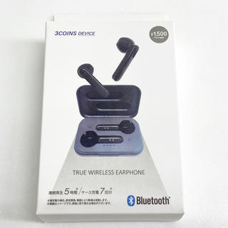 スリーコインズ(3COINS)の3coins Bluetooth ワイヤレスイヤホン 新品(ヘッドフォン/イヤフォン)