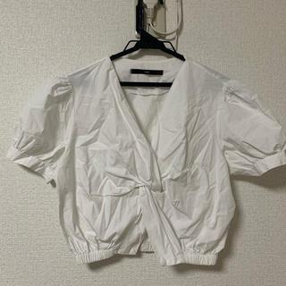 スタイルナンダ(STYLENANDA)のショート丈 トップス 韓国(シャツ/ブラウス(半袖/袖なし))