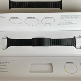 アップルウォッチ(Apple Watch)のApple Watch 純正 スペースブラック リンク ブレスレット(金属ベルト)