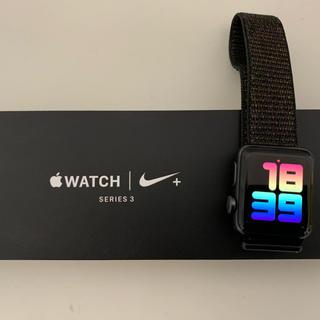 アップルウォッチ(Apple Watch)のApple Watch series3 nike(その他)