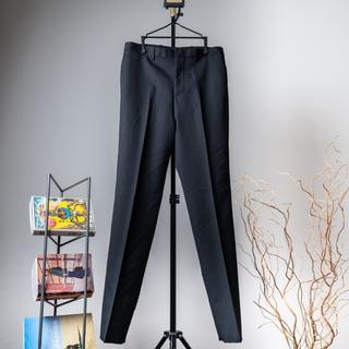 バレンシアガ(Balenciaga)のBALENCIAGA サイドラインスラックスパンツ ブラック(スラックス)