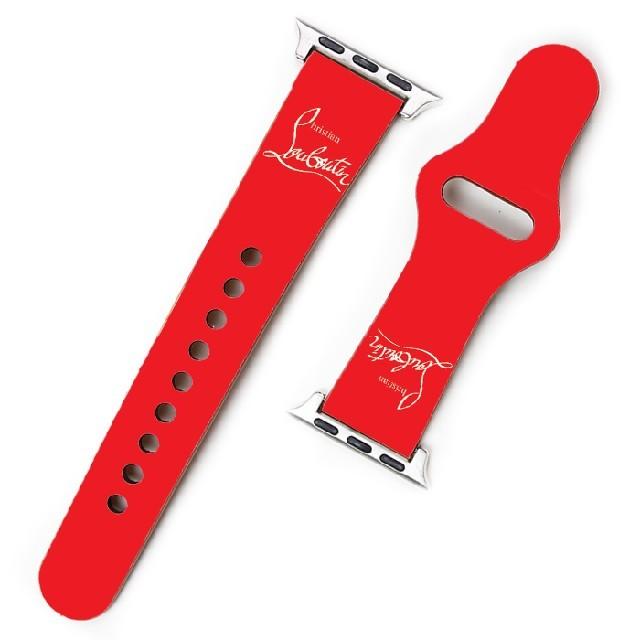 Christian Louboutin(クリスチャンルブタン)のApple Watch バンド ベルト クリスチャンルブタン u6k メンズの時計(レザーベルト)の商品写真