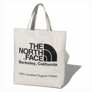 THE NORTH FACE - ノースフェイス オーガニックコットン トートバッグ ブラック