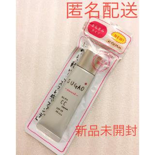 ロートセイヤク(ロート製薬)の新品 SUGAO スガオ  エアーフィットCCクリーム  ピュアナチュラル(ファンデーション)