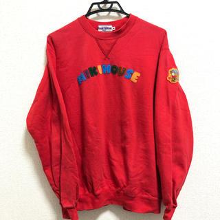 ミキハウス(mikihouse)のMIKI HOUSE SWEATSHIRT RED(スウェット)