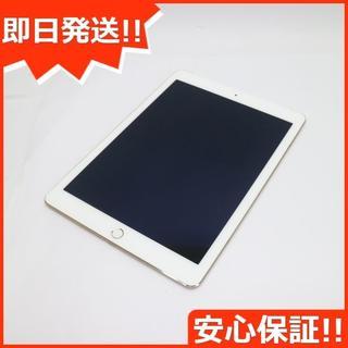 アップル(Apple)の美品 docomo iPad Air 2 Cellular 64GB ゴールド (タブレット)