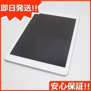 アップル(Apple)の美品 docomo iPad Air Cellular 16GB シルバー (タブレット)