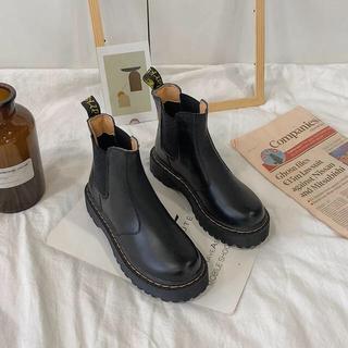 トゥデイフル(TODAYFUL)のドクターマーチン 風 ショートブーツ(ブーツ)