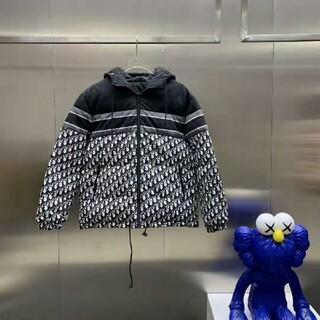 LOUIS VUITTON - ハーフレングスプリント刺繍ロゴデニムジャケット