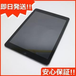 アップル(Apple)の美品 docomo iPad Air Cellular 16GB (タブレット)