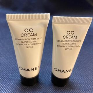 シャネル(CHANEL)のCHANEL  CCクリーム 2本(お試しサイズ)(CCクリーム)