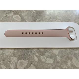 アップルウォッチ(Apple Watch)のApple Watch アップルウォッチ スポーツバンド ピンク M/L 純正(その他)