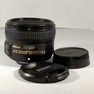 Nikon - Nikon AF-S NIKKOR 50mm 1.8G