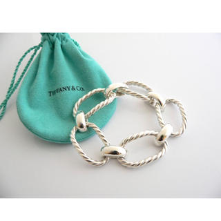 Tiffany & Co. - Tiffany&co. Cable Rope Link Bracelet